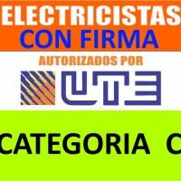 Electricista Autorizado por UTE 095 661 875 24 horas