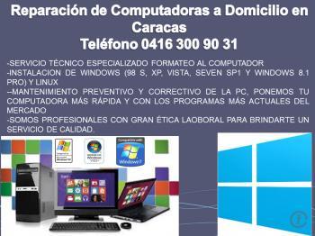 Reparación De Computadoras Caracas